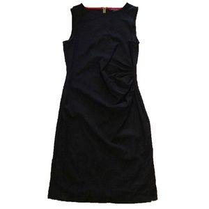 NWOT Kenneth Cole Sleeveless Black Midi Dress